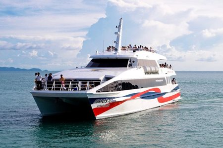 "Transfer from Samui to Koh Tao and back by High-Speed Catamaran ""Lomprayah"""